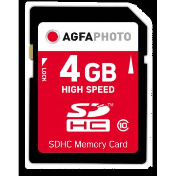 AGFA CARTAO SDHC 4GB HIGH SPEED (CLASSE 10)