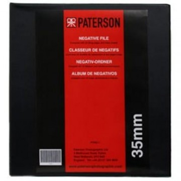 PTP611 - PASTA PARA ARQUIVO DE NEGATIVOS 35mm PATERSON