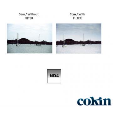 COKIN FILTRO P121 M DENSIDADE NEUTRA CINZA ND4 MEDIO