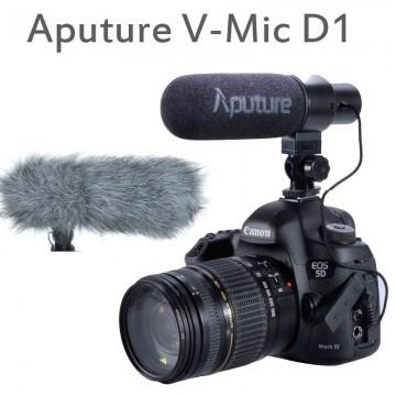 V-MIC D1  MICROFONE DIRECIONAL P/ VÍDEO DSLR
