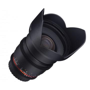 LENTE SAMYANG 16mm T2.2 VDSLR NIKON