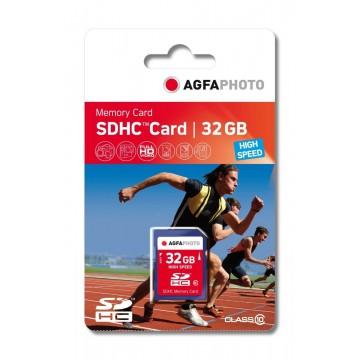 AGFA CARTAO MICRO SDHC 32GB + ADAPTADOR (CLASSE 10)