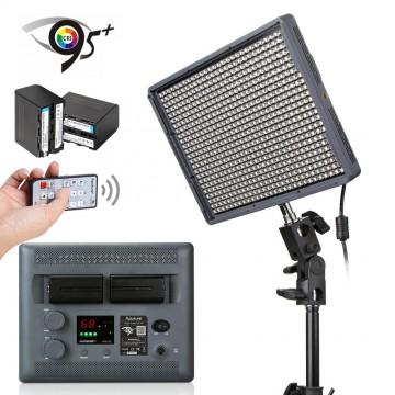 HR-672C - LUZ VIDEO LED AMARAN 672 LEDS