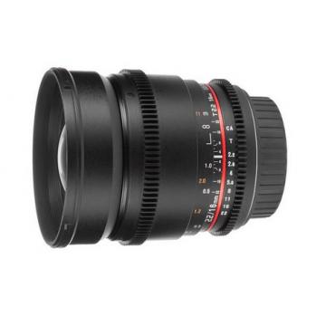 LENTE SAMYANG 16mm T2.2 VDSLR SONY