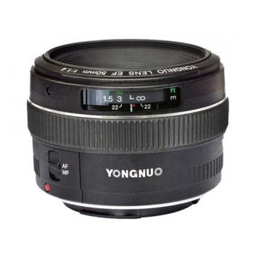 OBJETIVA YONGNUO AF 50mm F/1.8 P/CANON