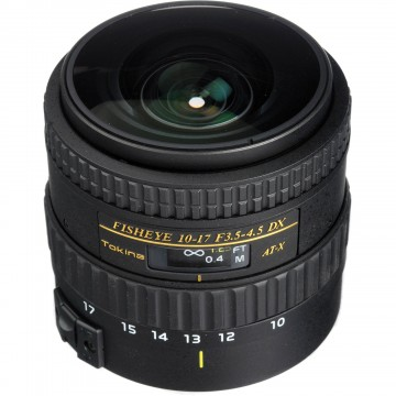 LENTE TOKINA AT-X AF DX 10-17mm F3.5-4.5 NIKON (107N)