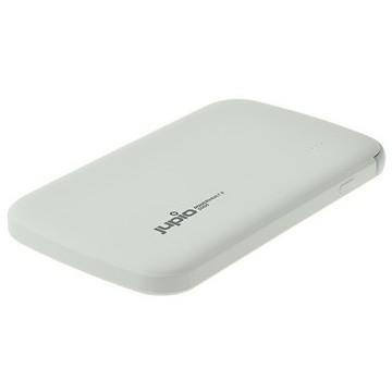 BATERIA EXTERNA 5000MAH  C/ 2 SAIDAS USB E CABO MICRO USB