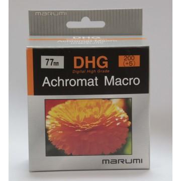 FILTRO DHG ACHROMAT MACRO 200(+5) 77mm - MARUMI