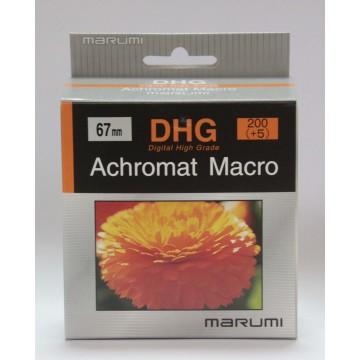 FILTRO DHG ACHROMAT MACRO 200(+5) 67mm - MARUMI