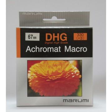 FILTRO DHG ACHROMAT MACRO 330(+3) 67mm - MARUMI