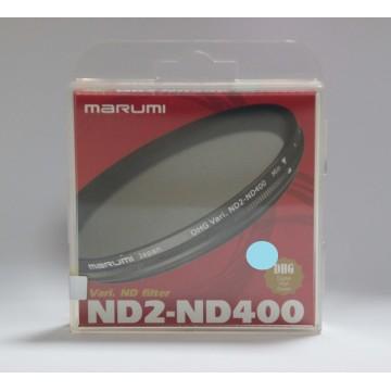 FILTRO DHG VARI ND2-ND400 77mm - MARUMI