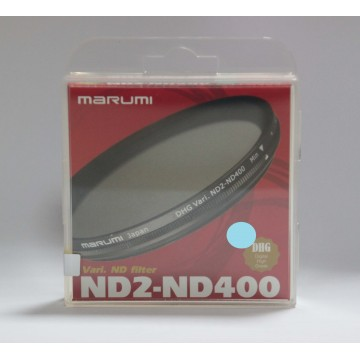 FILTRO DHG VARI ND2-ND400 58mm - MARUMI