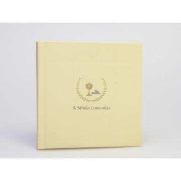 ALBUM COMUNHAO C/CAPA TELA NORMAL 20 FLS 25x25cm BF2