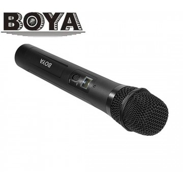 BYWHM8 - MICROFONE DE MÃO SEM FIOS UHF BOYA