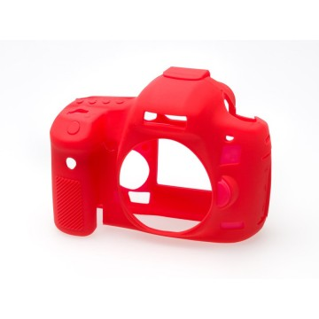 CAPA PROT. EM SILICONE PARA CANON 5D Mark III/5DS R/5DS VERM.