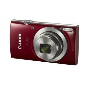 IXUS 185 RED - 20.0 MEGAPIXELS. 28MM WIDE 8X. 16X ZOOM