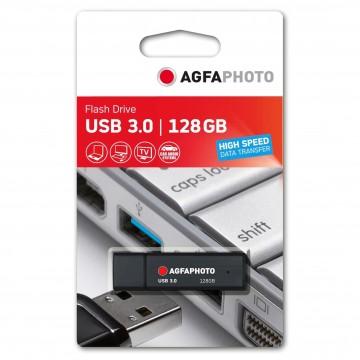AGFA PEN USB3.0 128GB PRETA (25MB/70MB)