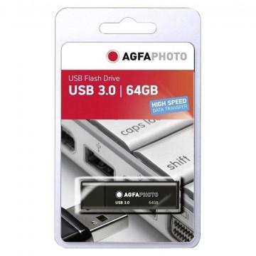 AGFA PEN USB3.0 64GB PRETA (20MB/55MB)