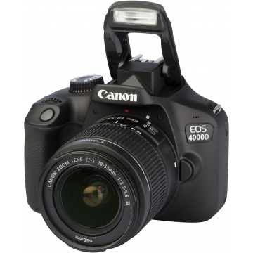 KIT DSLR CANON 4000D + EF-S 18-55mm III