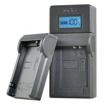 CARREGADOR JUPIO C/ LCD PARA BAT. NIKON 3.6V-4.2V LNI0034