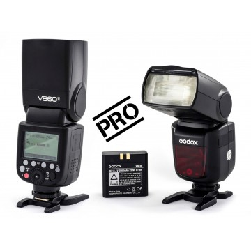 FLASH PROF. GODOX V860II TTL P/ OLYMPUS&PANASONIC