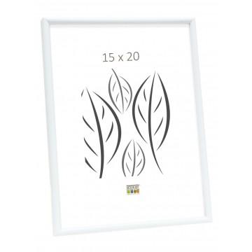 MOLDURA BASIC LINE BRANCO 15X20  S011S1