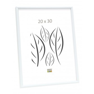 MOLDURA BASIC LINE BRANCO 20X30 S011S1
