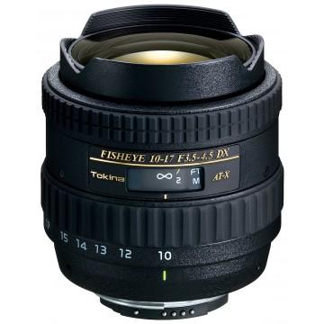 LENTE TOKINA AT-X AF DX 10-17mm F3.5-4.5 CANON (107C)