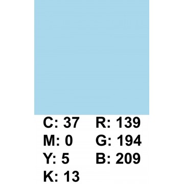 FUNDO PAPEL 2,72X11M AZUL CLARO 0002